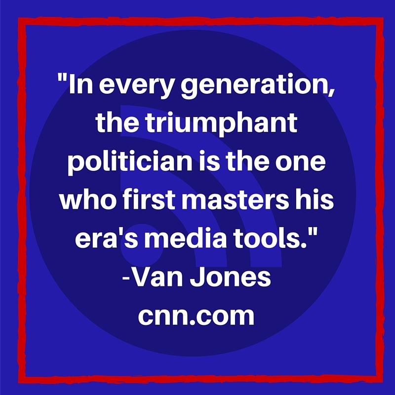 Donald Trump elected as President of Social Media