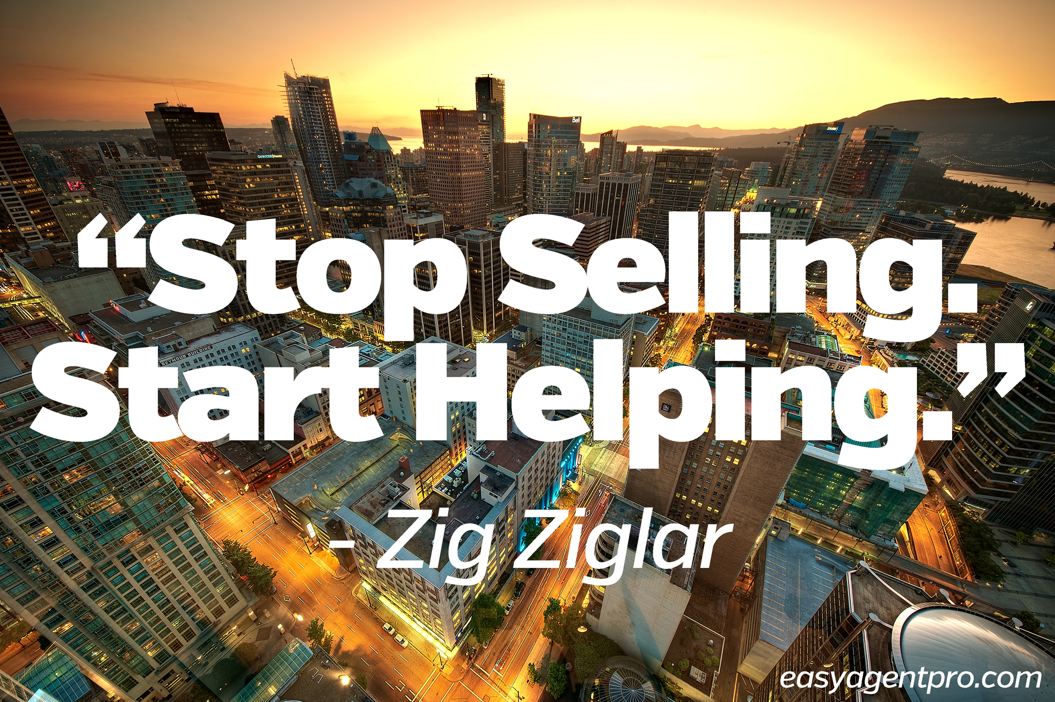 Marketers Stop Selling, Focus on Being Bought!